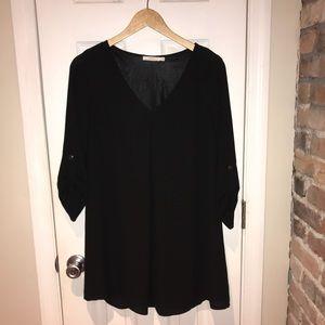 Lush Black Dress